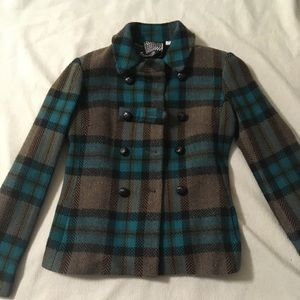 L.A.M.B. Plaid size 6 jacket